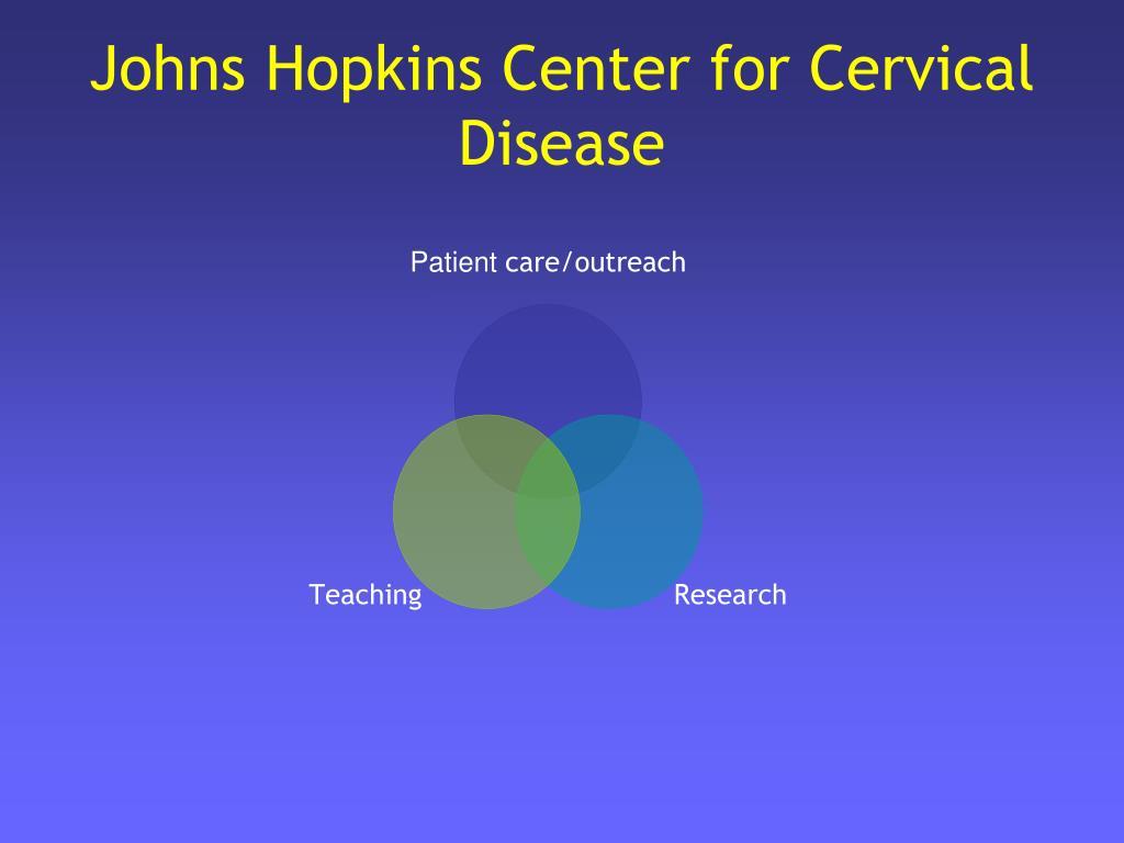 Johns Hopkins Center for Cervical Disease