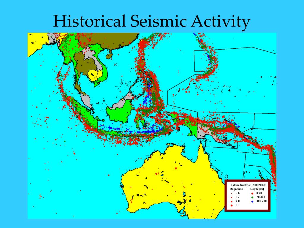 Historical Seismic Activity