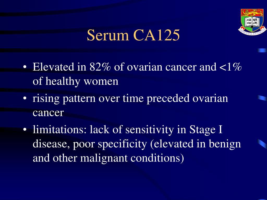 Serum CA125