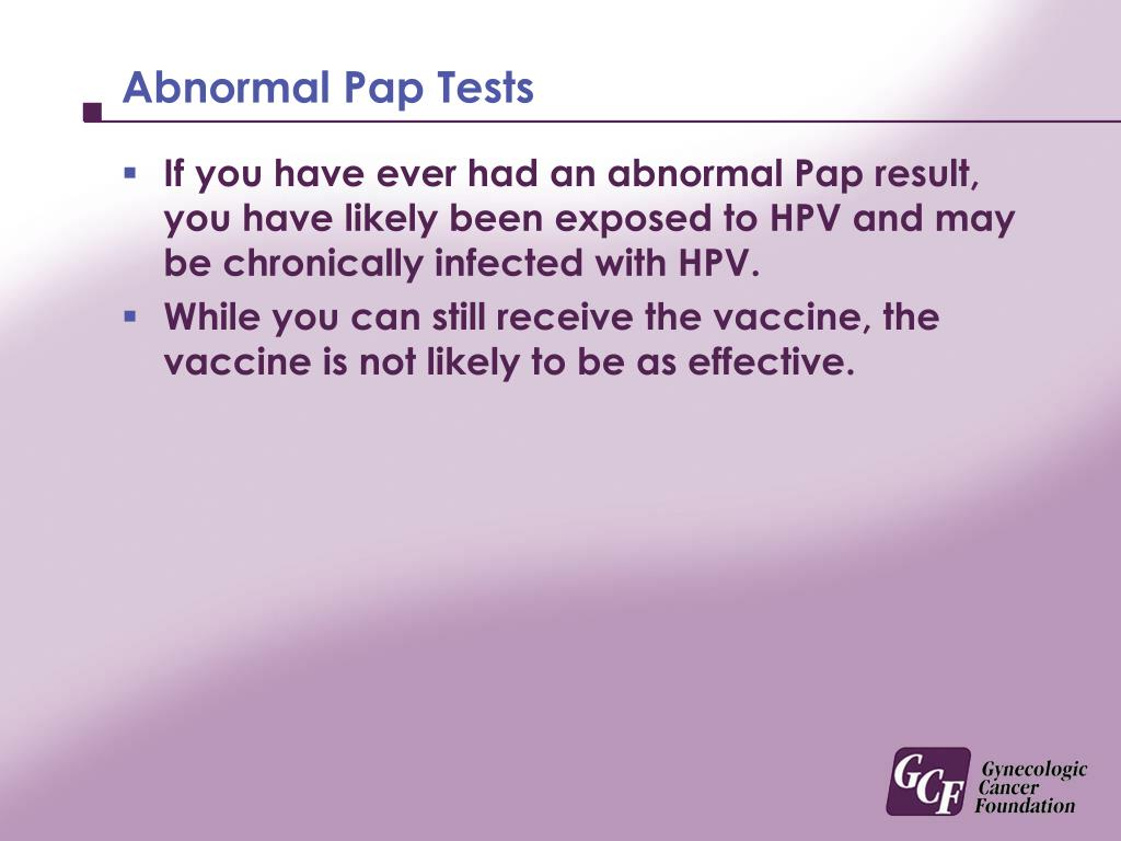 Abnormal Pap Tests