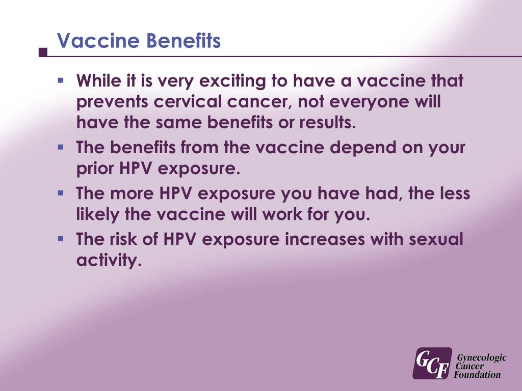 Vaccine Benefits