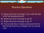 practice questions41