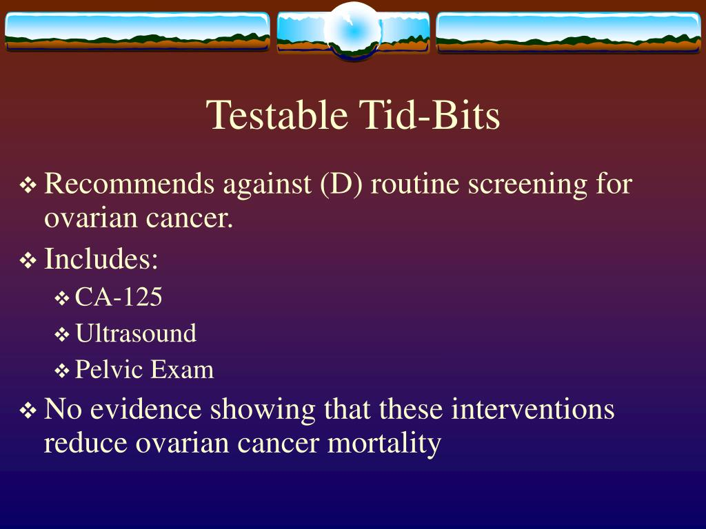 Testable Tid-Bits