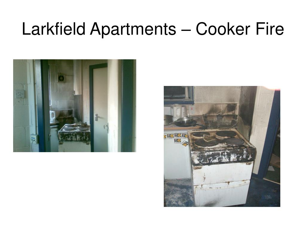 Larkfield Apartments – Cooker Fire