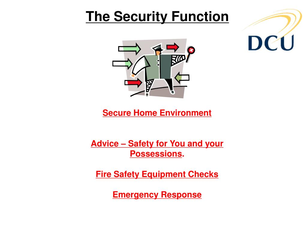 The Security Function