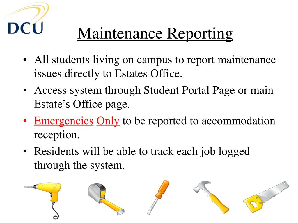 Maintenance Reporting