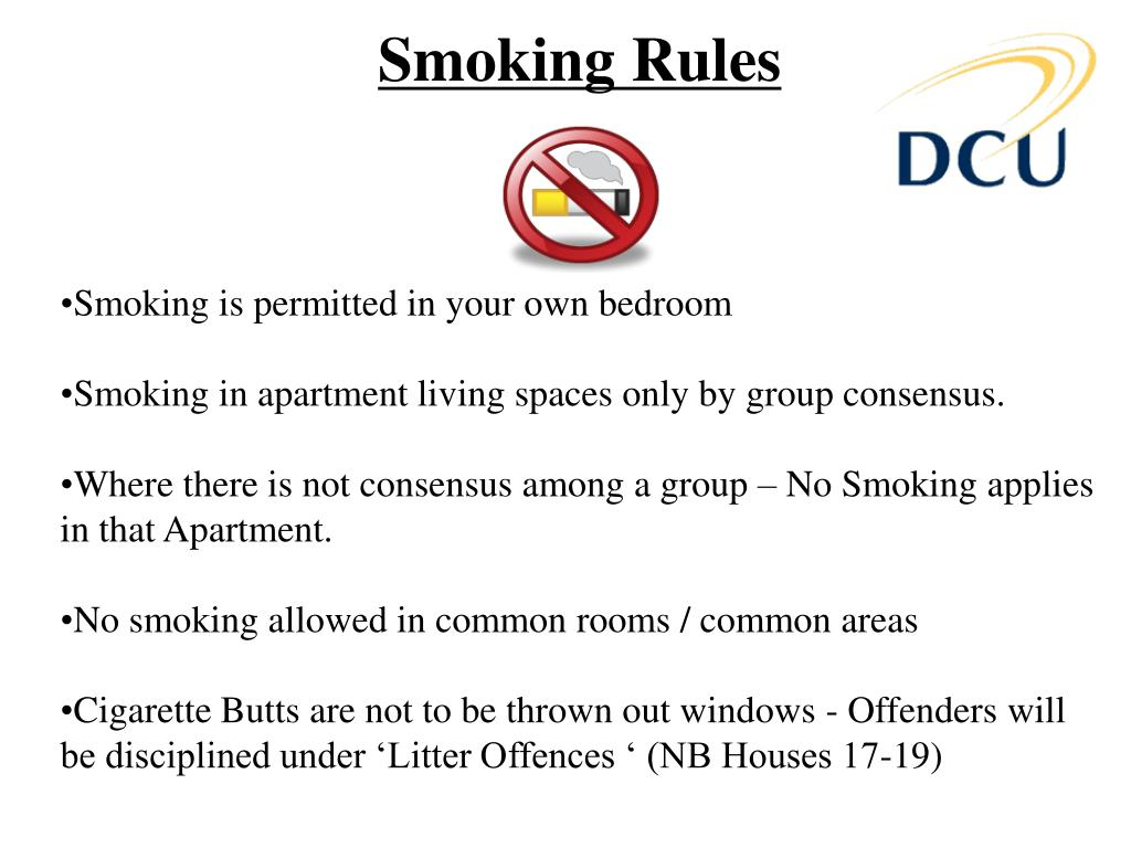 Smoking Rules