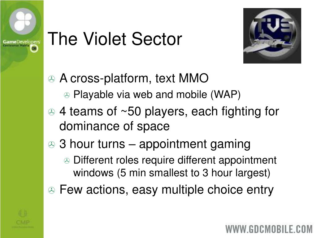 The Violet Sector