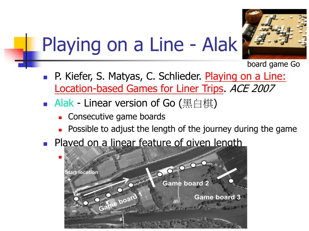 Playing on a Line - Alak