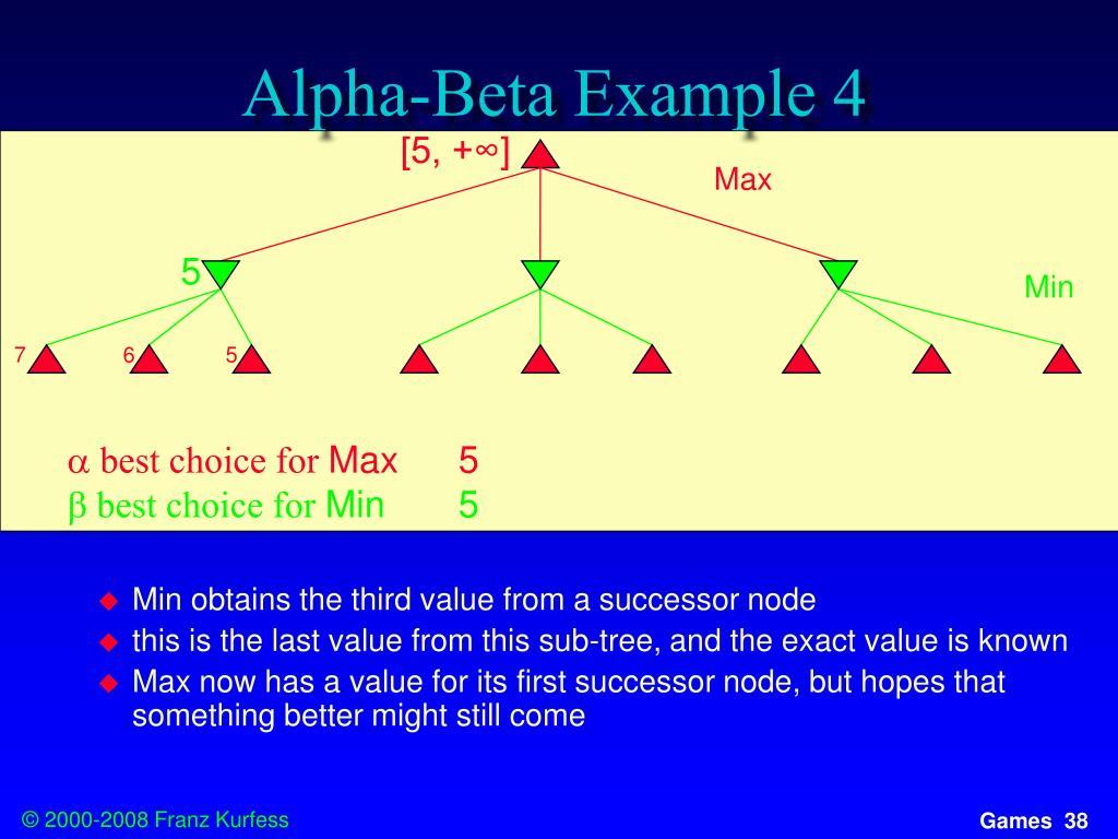 Alpha-Beta Example 4