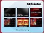 full game dev