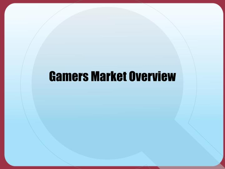 Gamers Market Overview