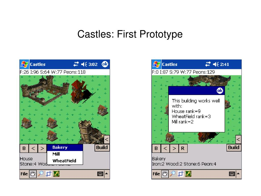 Castles: First Prototype