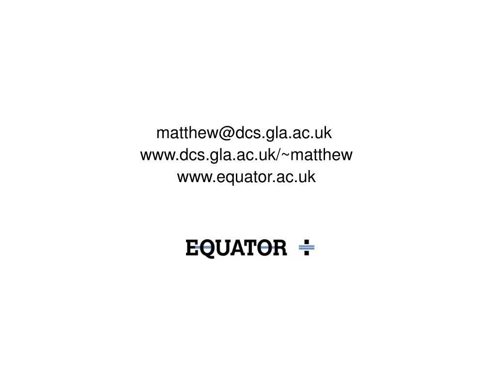 matthew@dcs.gla.ac.uk