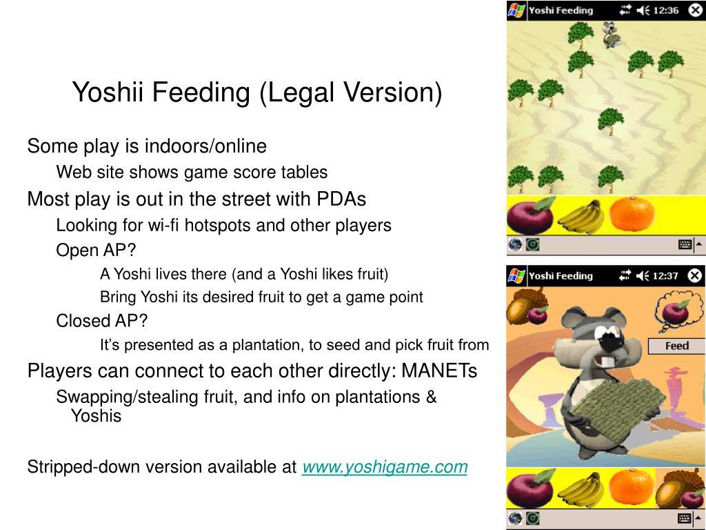 Yoshii Feeding (Legal Version)