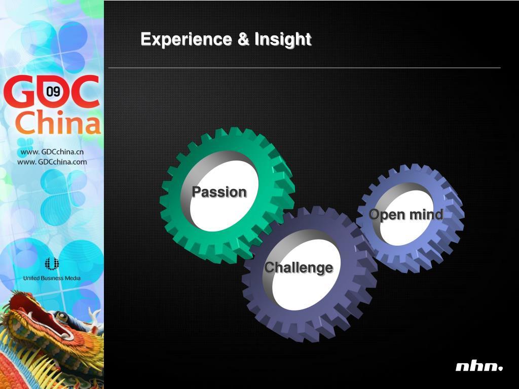 Experience & Insight