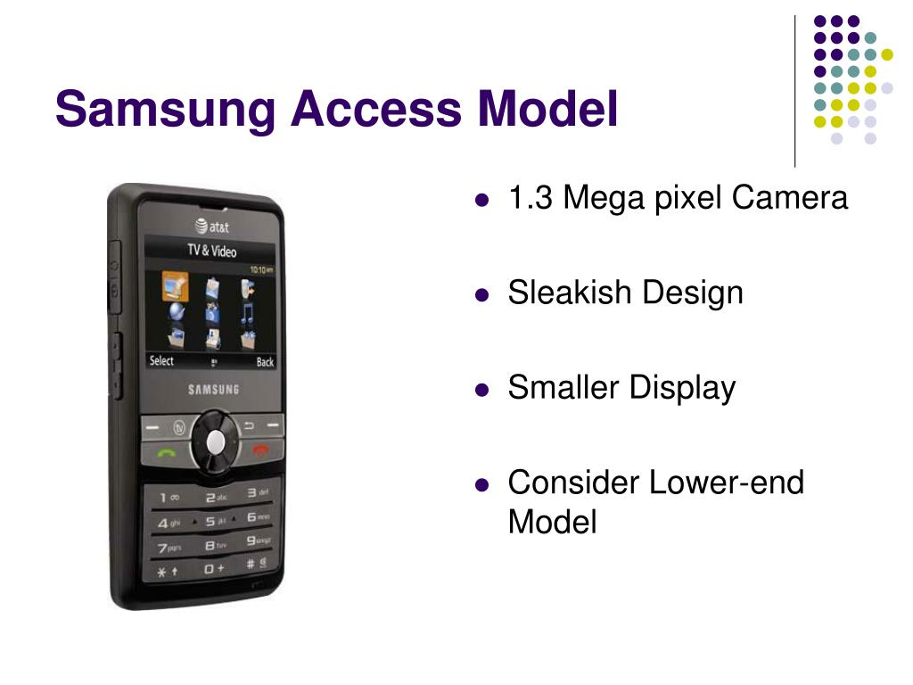 Samsung Access Model