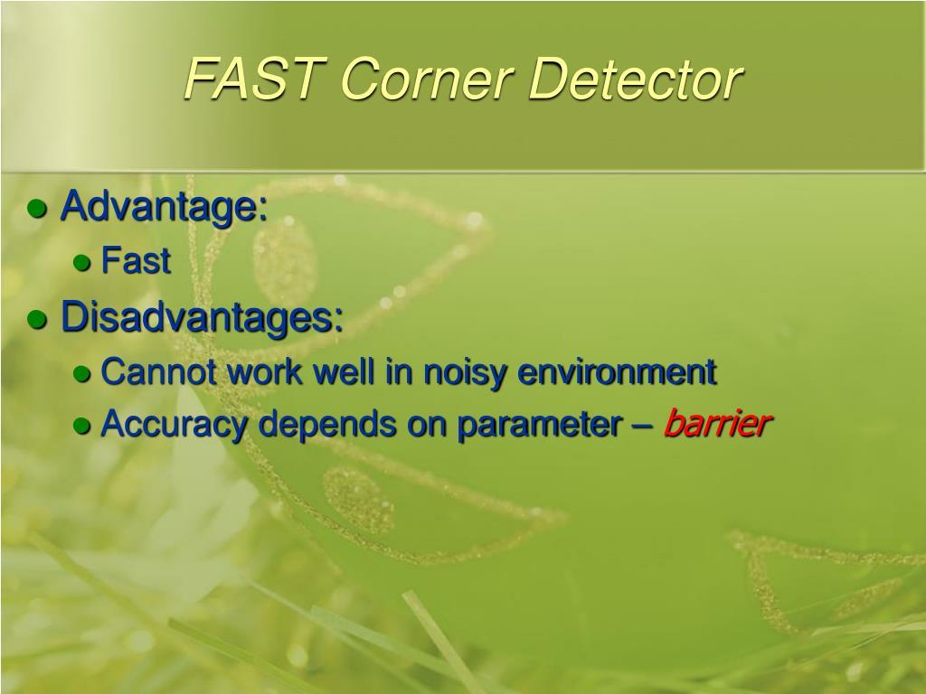 FAST Corner Detector