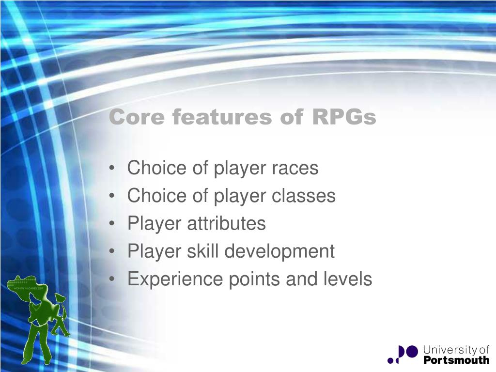 Core features of RPGs