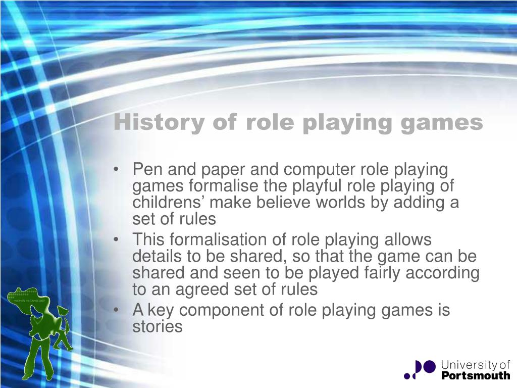 History of role playing games