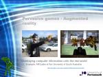 pervasive games augmented reality