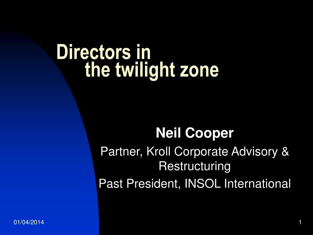 Directors in