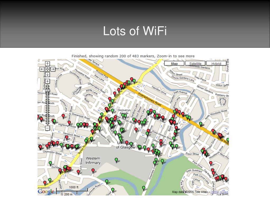 Lots of WiFi
