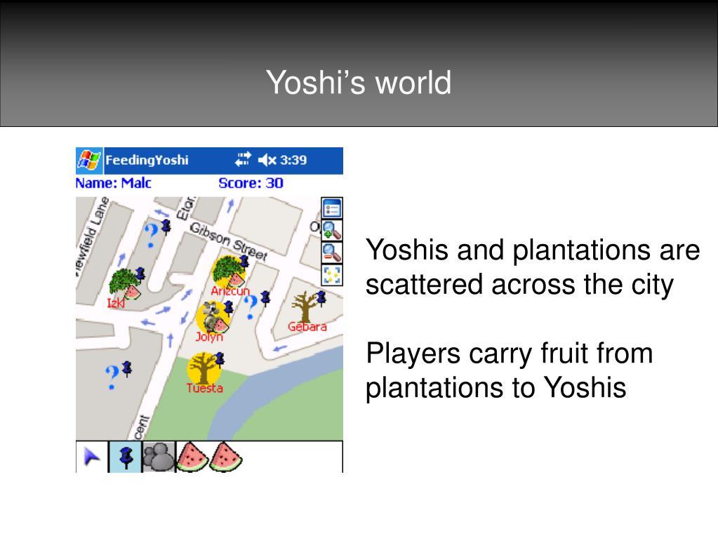 Yoshi's world