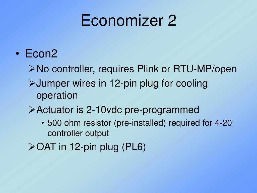 Economizer 2