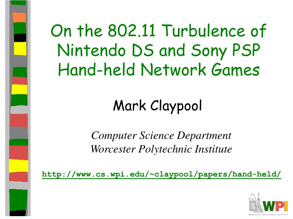 On the 802.11 Turbulence of Nintendo DS and Sony PSP Hand-held Network Games