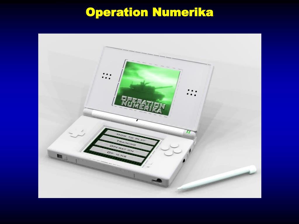 Operation Numerika