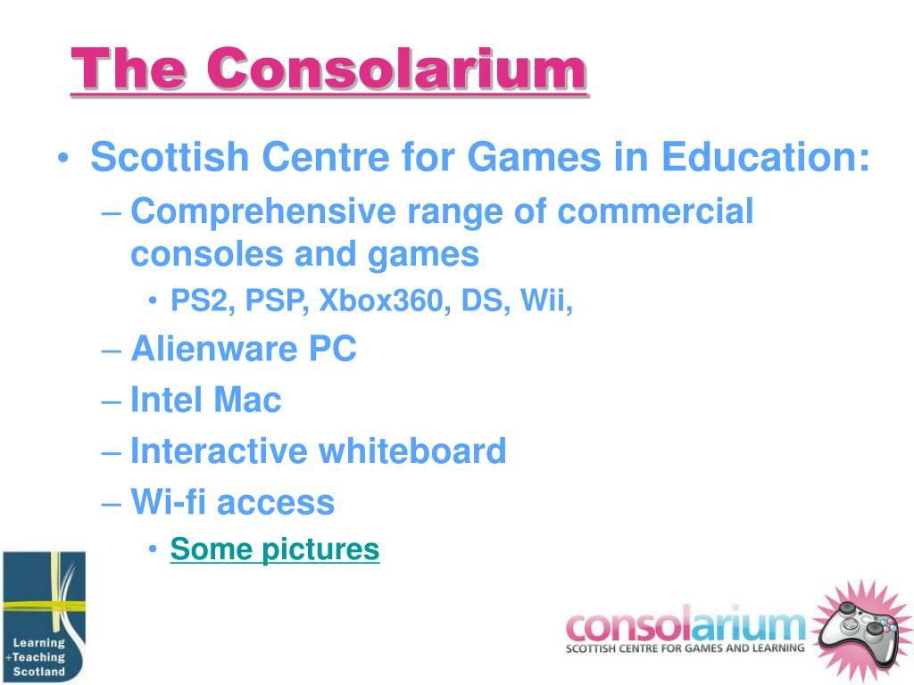 The Consolarium