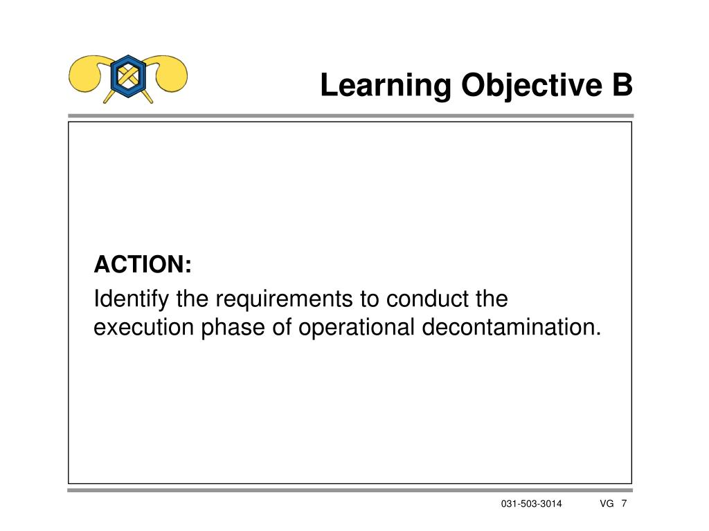 Learning Objective B