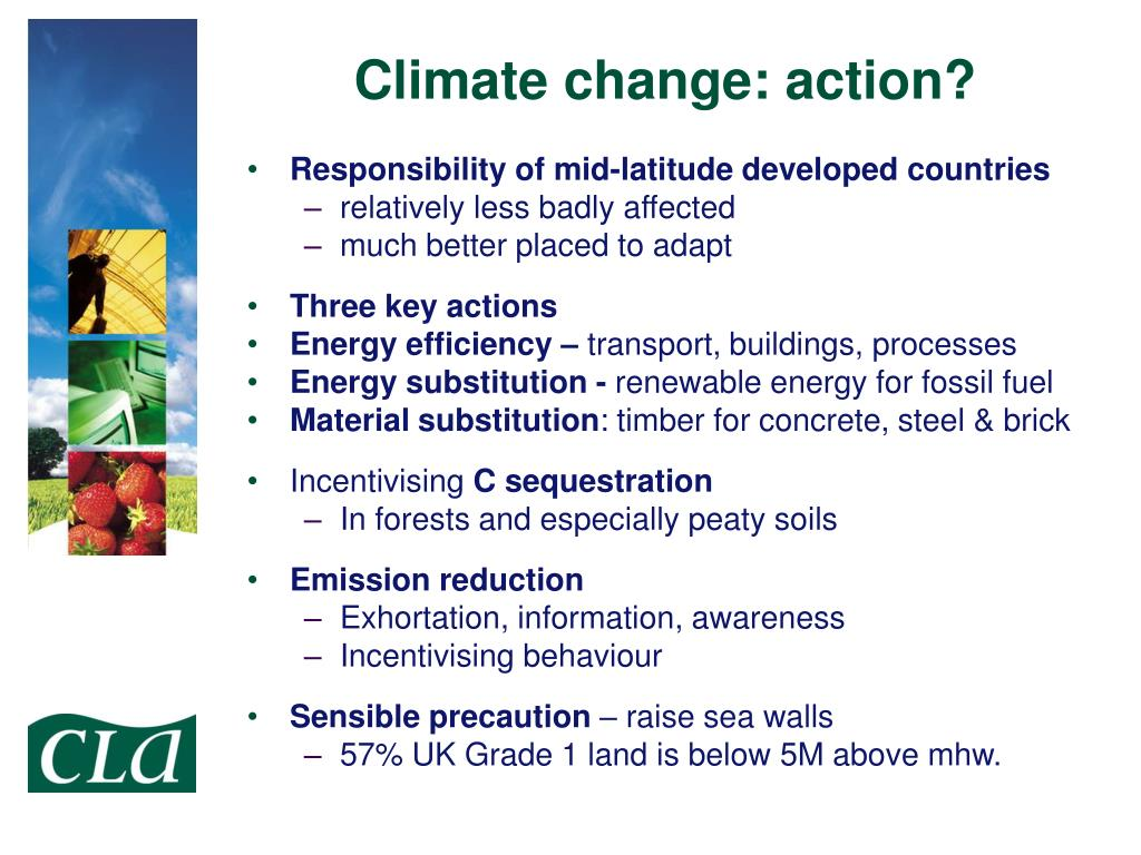 Climate change: action?