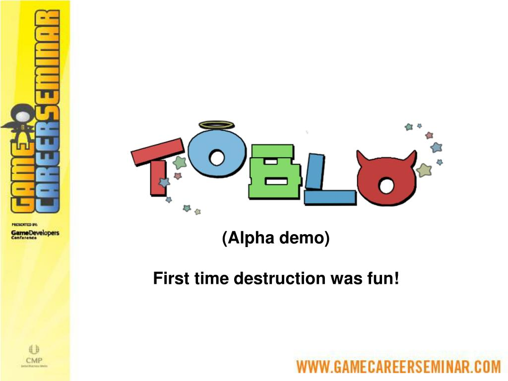 (Alpha demo)
