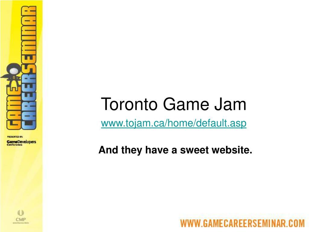 Toronto Game Jam