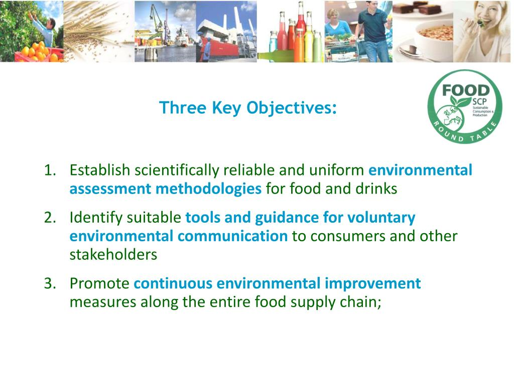 Three Key Objectives: