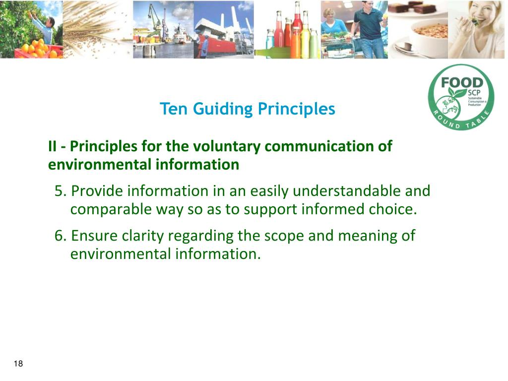 Ten Guiding Principles