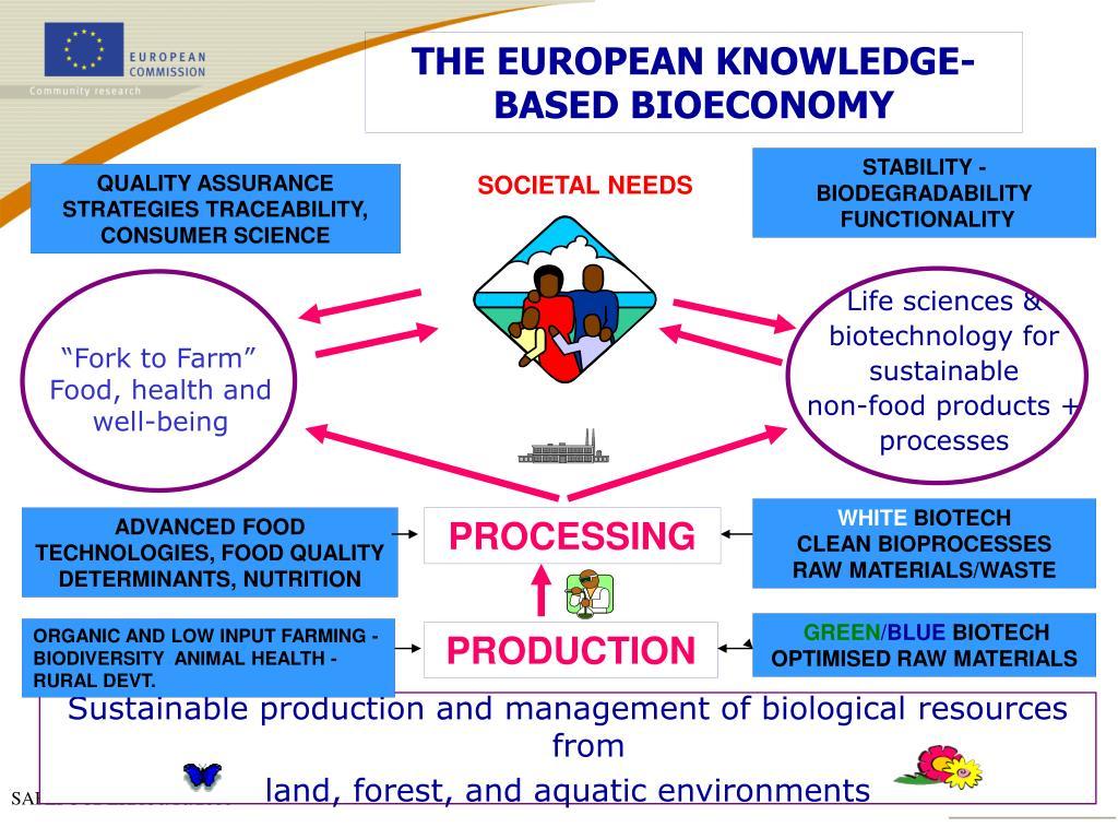 THE EUROPEAN KNOWLEDGE- BASED BIOECONOMY