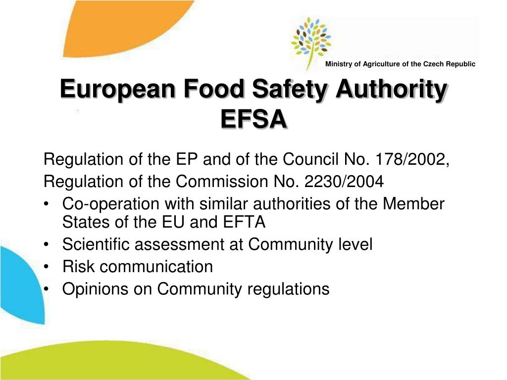 European Food Safety Authority EFSA