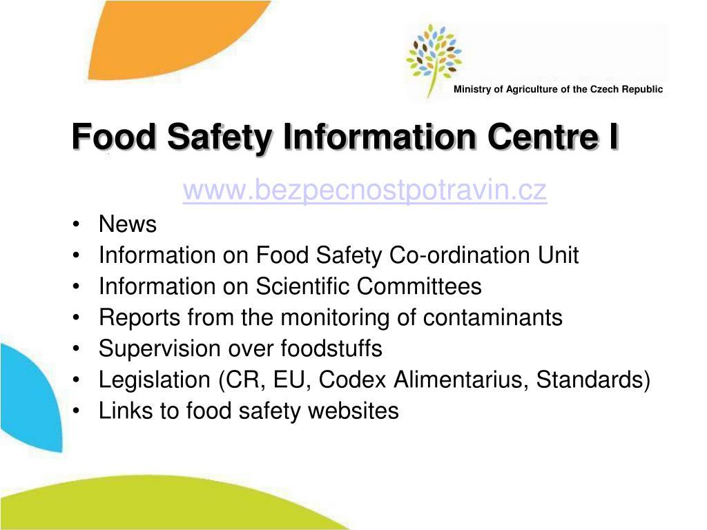 Food Safety Information Centre I