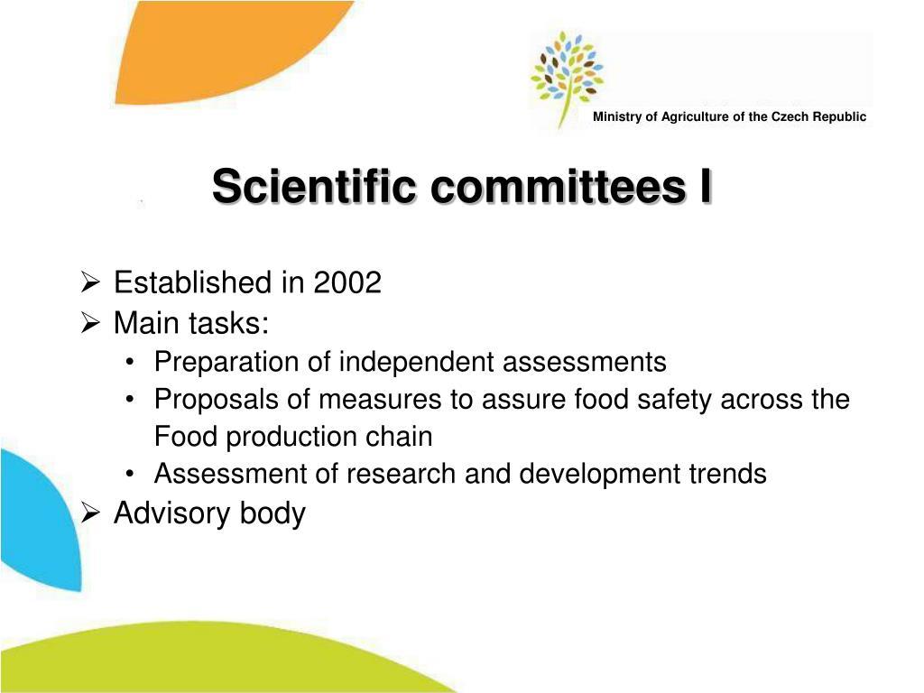 Scientific committees I