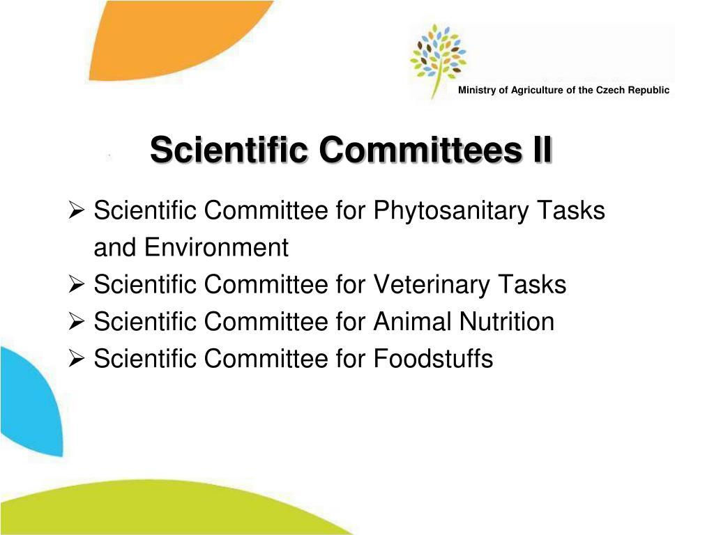 Scientific Committees II
