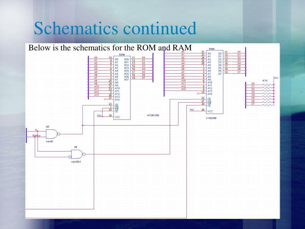 Schematics continued