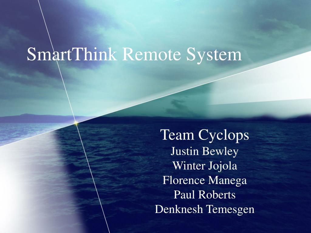SmartThink Remote System