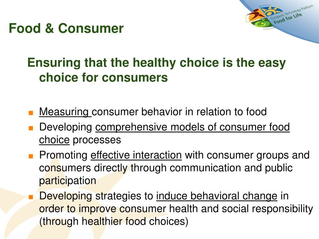 Food & Consumer