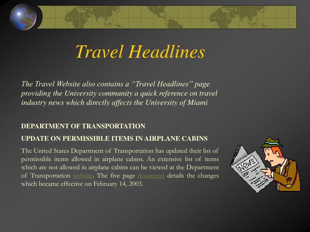 Travel Headlines