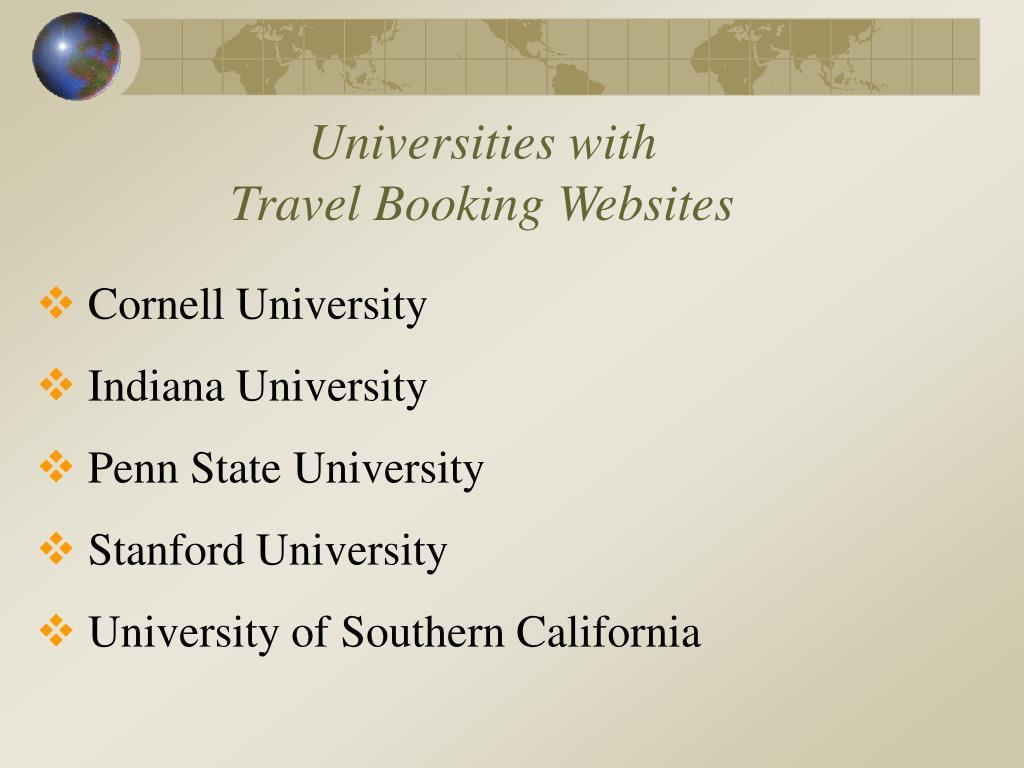 Universities with