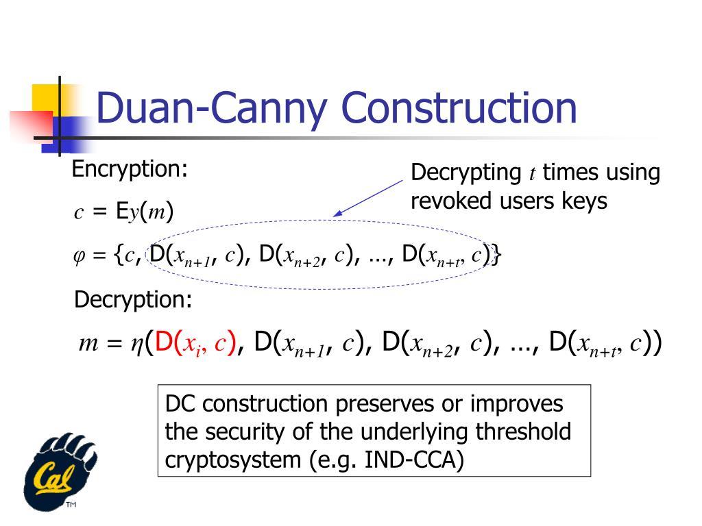 Duan-Canny Construction
