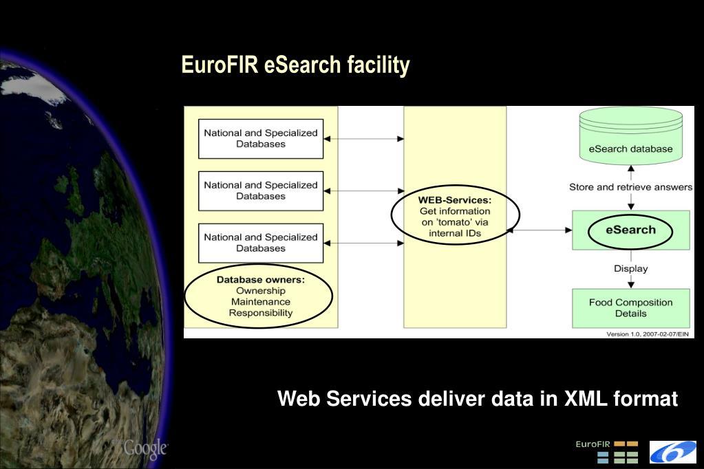 EuroFIR eSearch facility